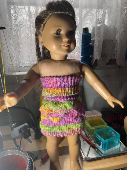 Myra Kness Pointy Doll Dress 1