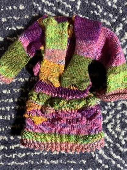 Myra Kness Pointy Doll Sweater 1