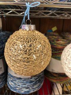 Star Lace Ornament 2