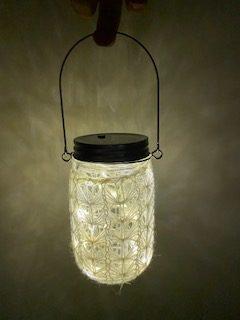 Mason Jar Lantern 1