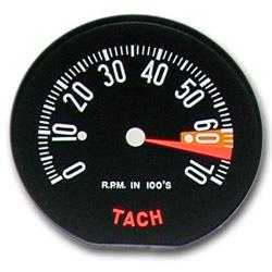 1959 Hi RPM Tachometer Face