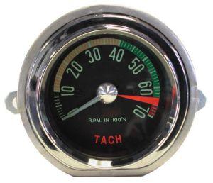 1961 Late Corvette Hi RPM Tachometer Assembly (Gen. Dr.) Tach