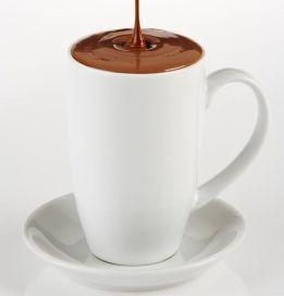 A krémes forró csoki