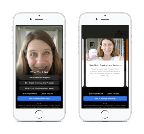 Facebook Groups Testing Group Subscriptions