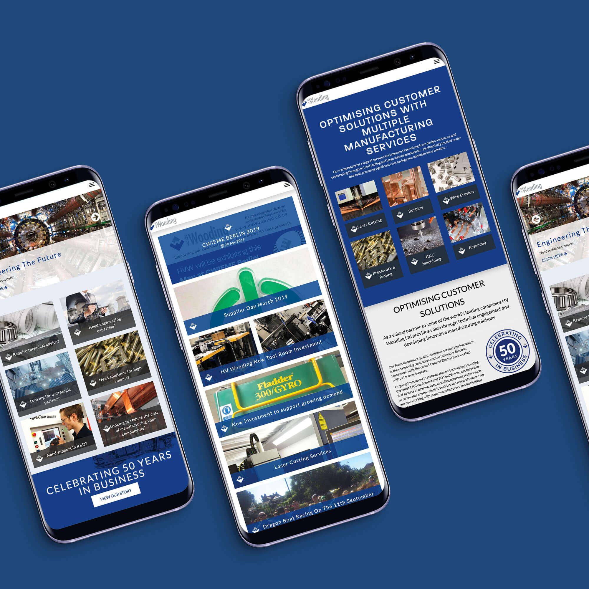 HV Mobile Website