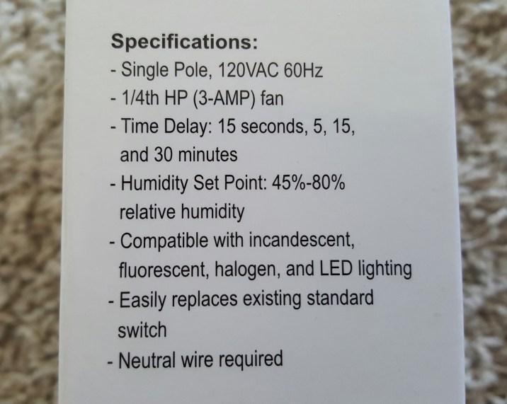 humidity control 8