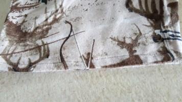 Deer flannel pajamas 6