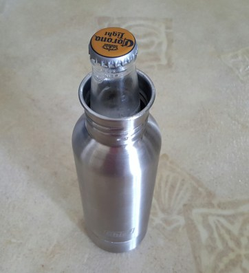 stainless bottle koozie set 16