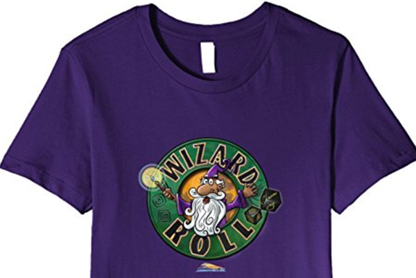 Wizard Roll t shirt