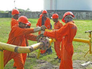 Cour de tuyauterie au CSP POG