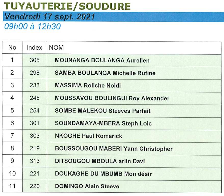 Résultats-concours-centre-de-libreville-2