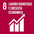 Sustainable Development Goals 8 Lavoro dignitoso e crescita economica