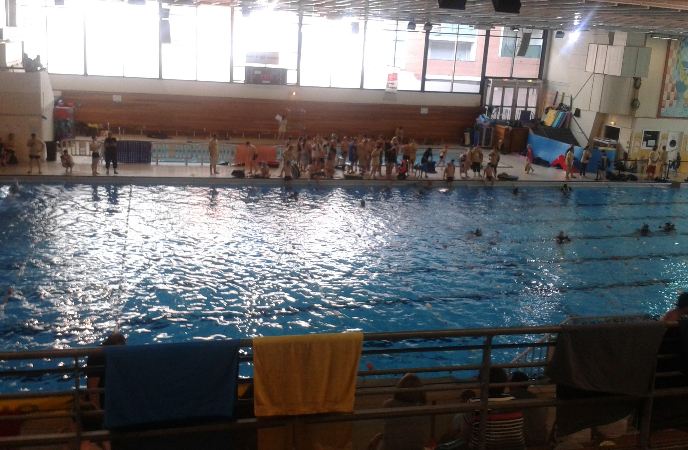 Challenge oxyjeune 2014 pour les jeunes plongeurs du csr for Piscine 50m toulouse
