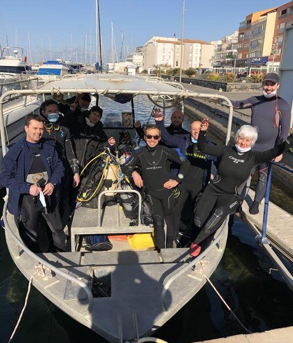 Les prépas N3 en sortie au Cap d'Agde
