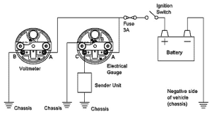 Recalibrating the water temperature gauge | CSR175