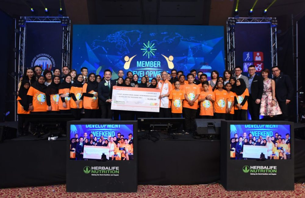 Herbalife Nutrition Foundation Cares for the Children
