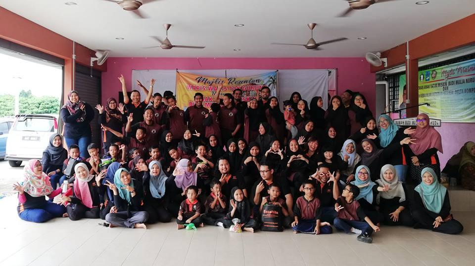 ExcelVite's CSR team visited Pusat Kebajikan Anak-Anak Yatim Dan Miskin Budi Mulia Nurul Huda, at Chemor, Perak.