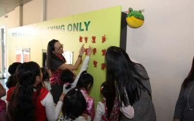 Chinees Nieuwjaar viering op school