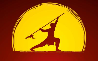 Wushu lessen op school