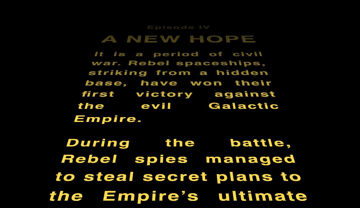 Star Wars Crawl Text Css Tricks
