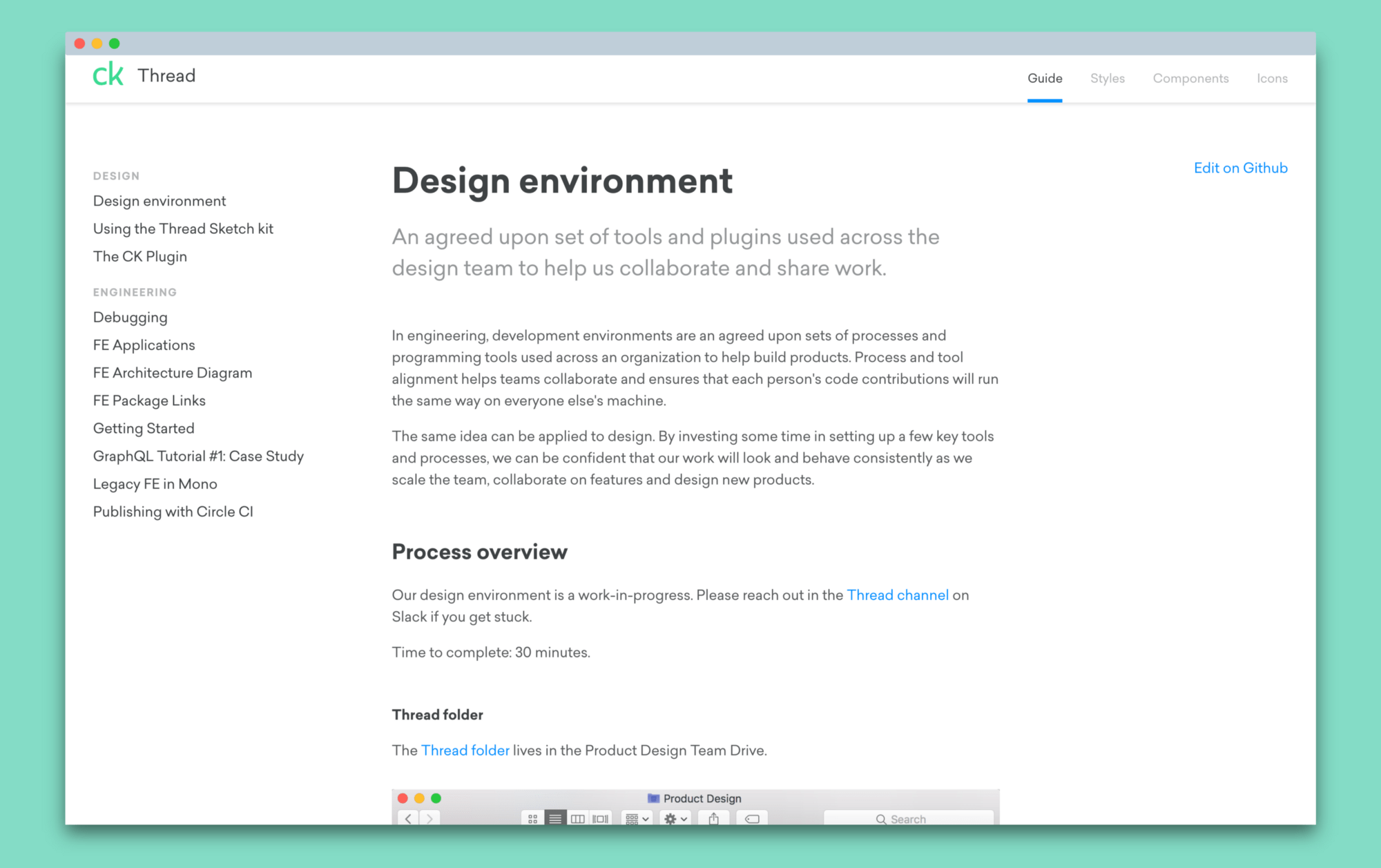 Developing A Design Environment Css Tricks
