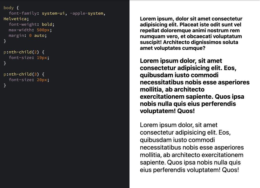 Chrome + System Fonts Snafu