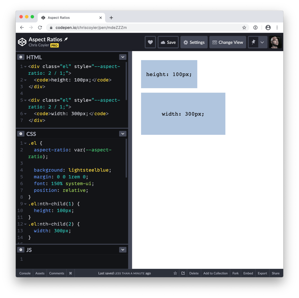 A First Look at `aspect-ratio` 3