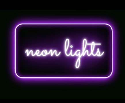 How to Create Neon Text With CSS