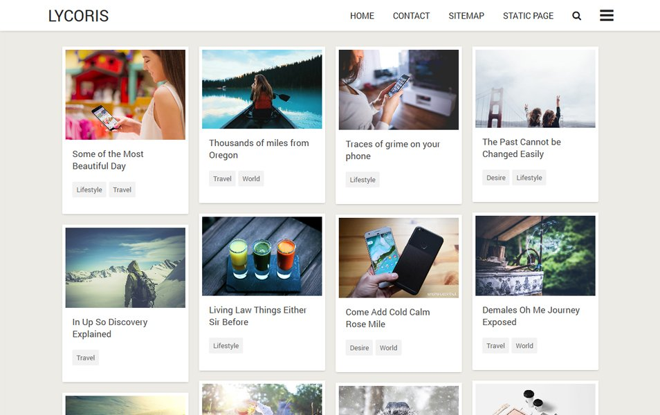 40 Latest Free Gallery Style Blogger Templates 2019 Css