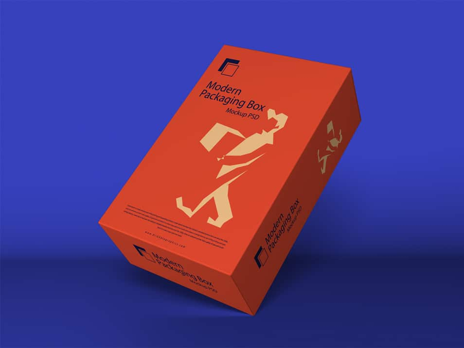 Download Free Modern Packaging Box Mockup PSD » CSS Author