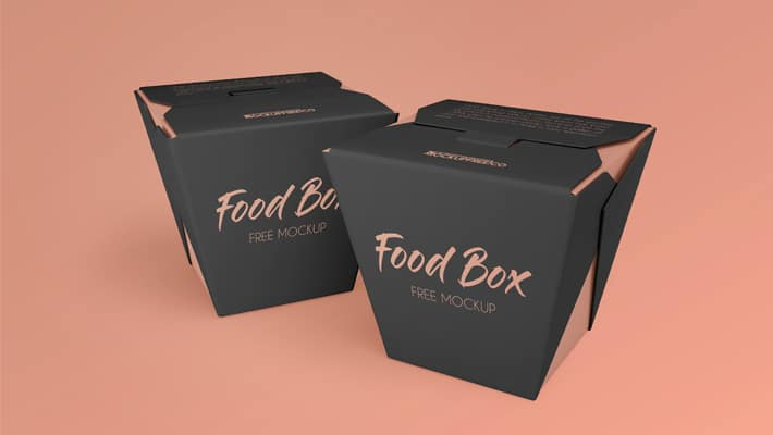 Download Food Box Free PSD Mockups » CSS Author