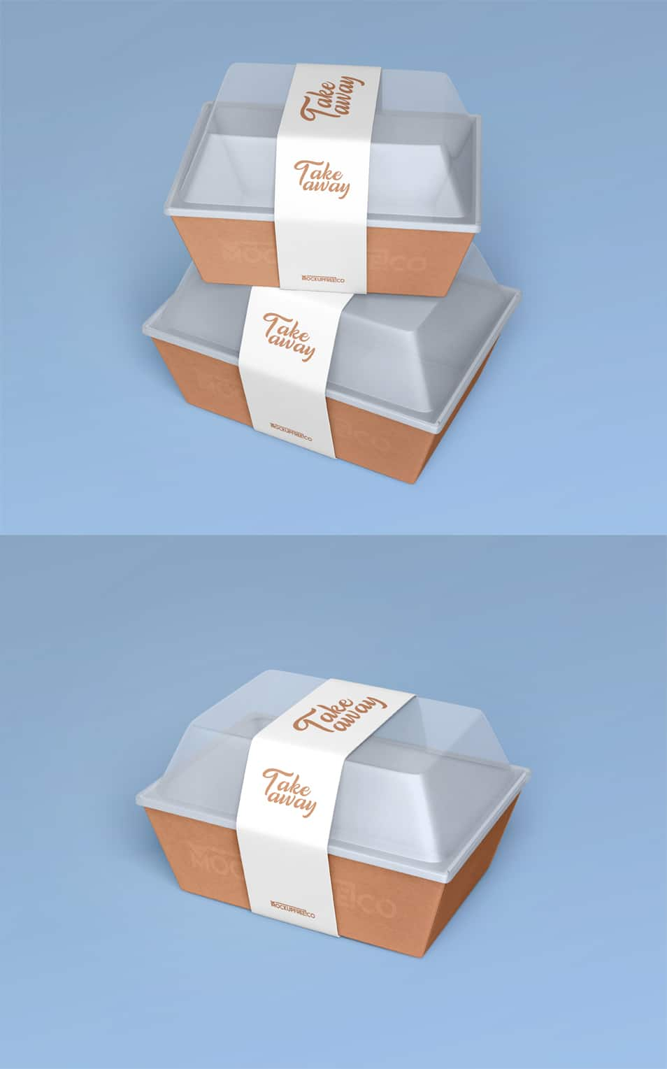 Download Food Container Paper Box 2 Free PSD Mockups » CSS Author