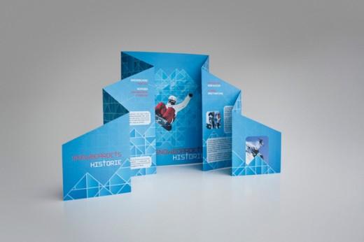 20 Creative Die Cut Brochure Designs - CSSDive