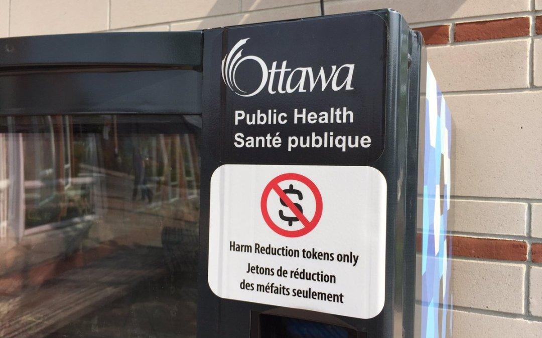 Ottawa's Move for Harm Reduction via Vending Machines
