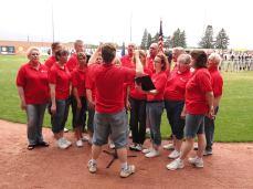 National Anthem- Wisconsin Woodchucks