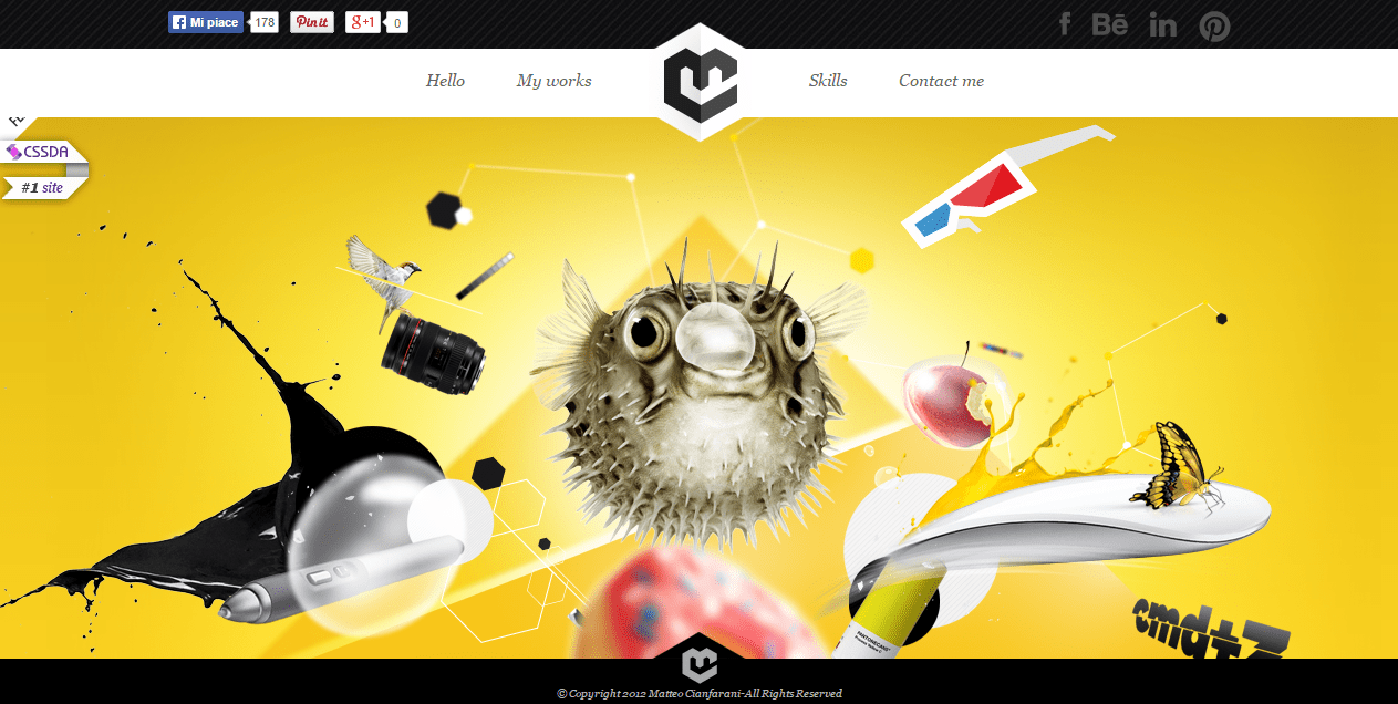 Matteo Cianfarani Graphic and Web Designer