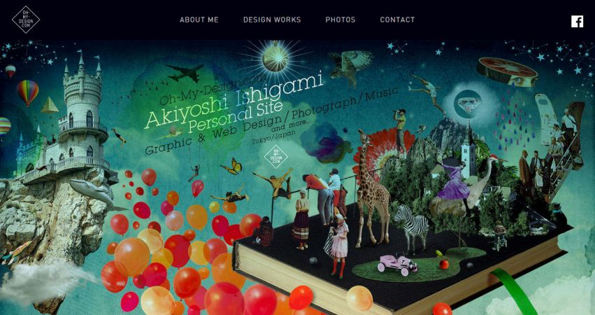 Akiyoshi Ishigami Personal Site