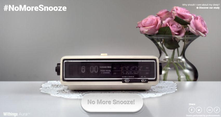 No More Snooze