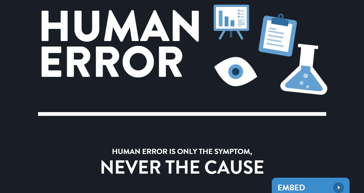 NSF.DBA / Human Error