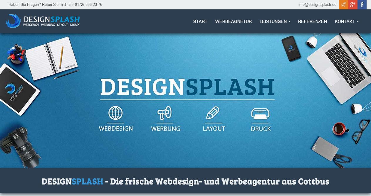 DesignSplash - Webdesign Cottbus