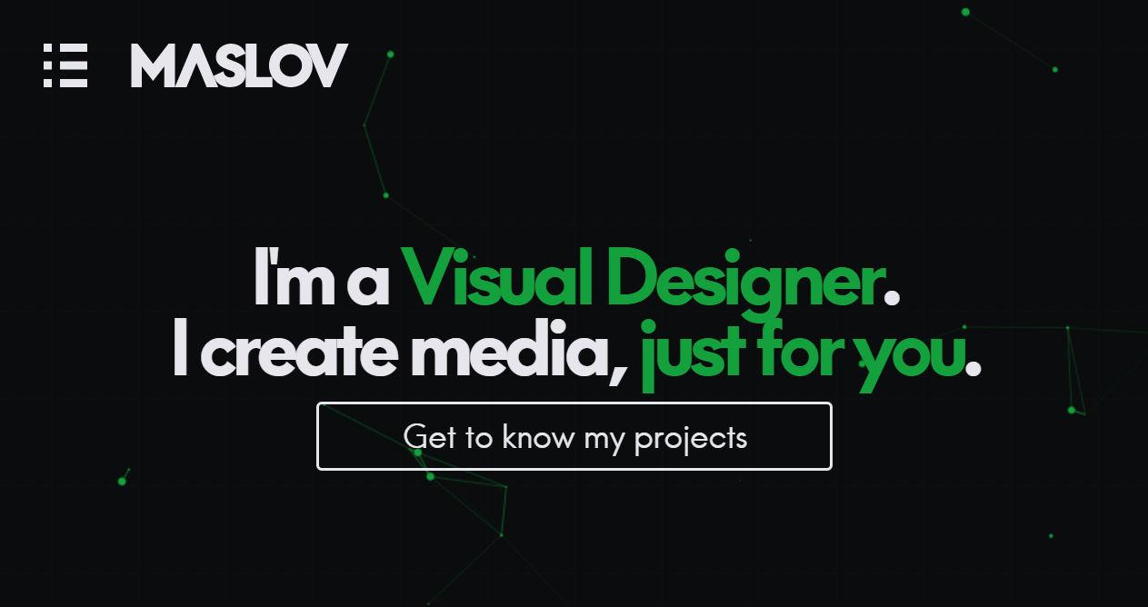 MASLOV Design Portfolio