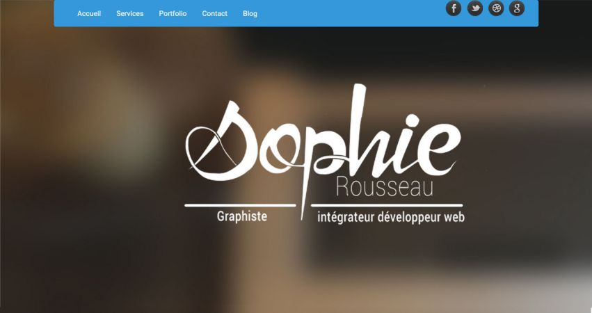 Sophie Rousseau Portfolio