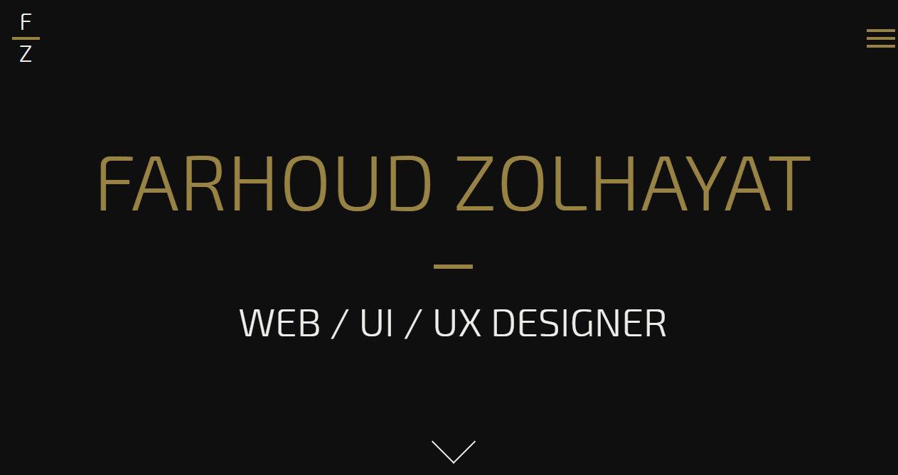 Farhoud Zolhayat Portfolio