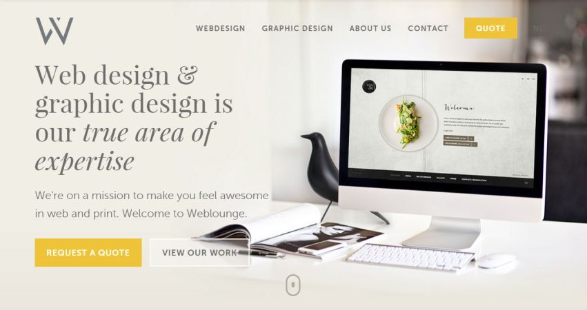 Webdesign Agency Weblounge