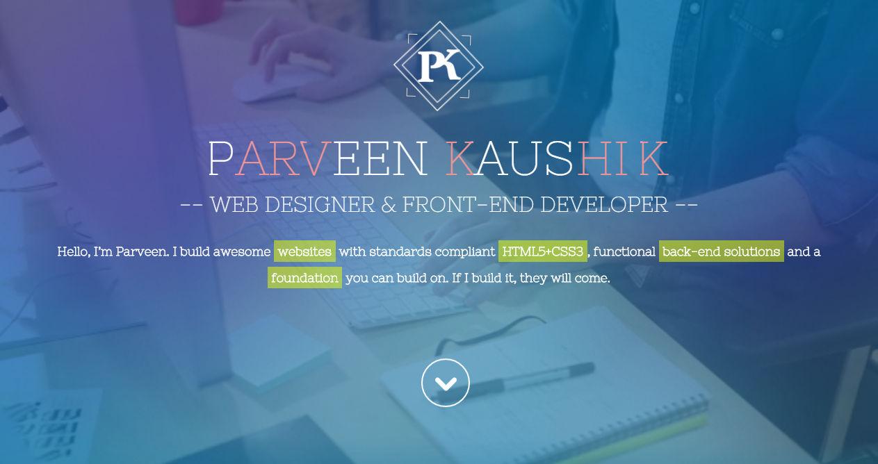 Parveen Kaushik Freelancer Creative