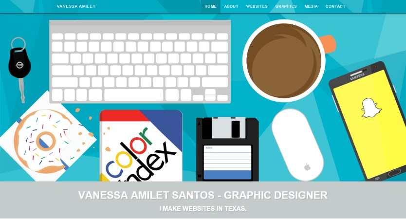 Vanessa Amilet | Web Designer