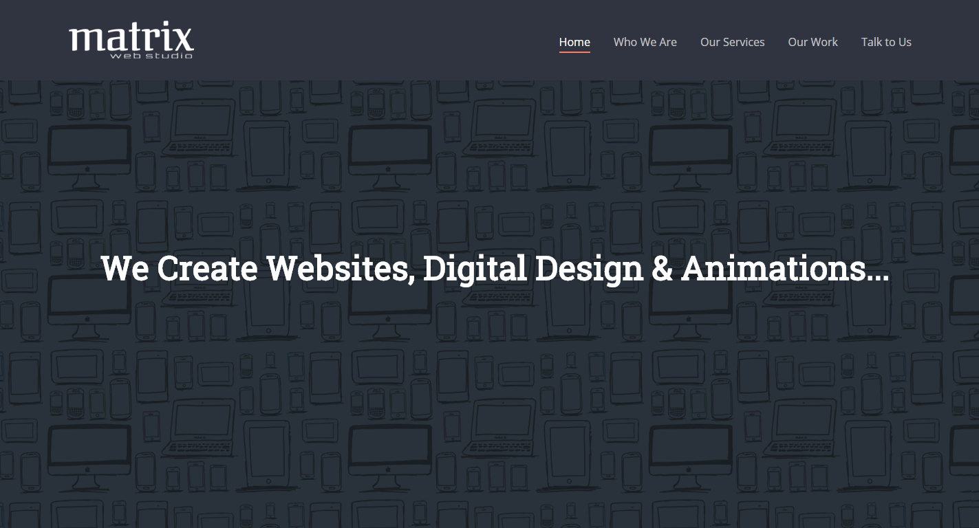 Matrix Web Studio