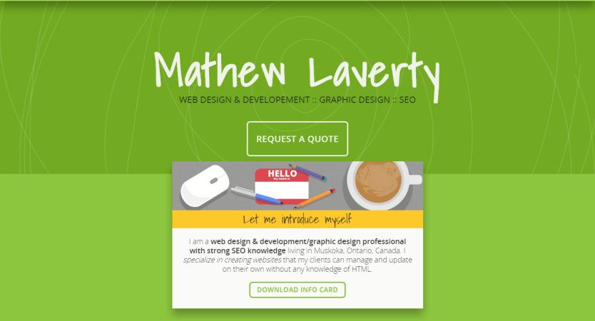 Mathew Laverty