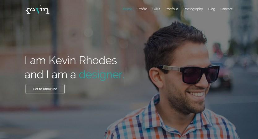 iamKevinRhodes | Personal Portfolio Site