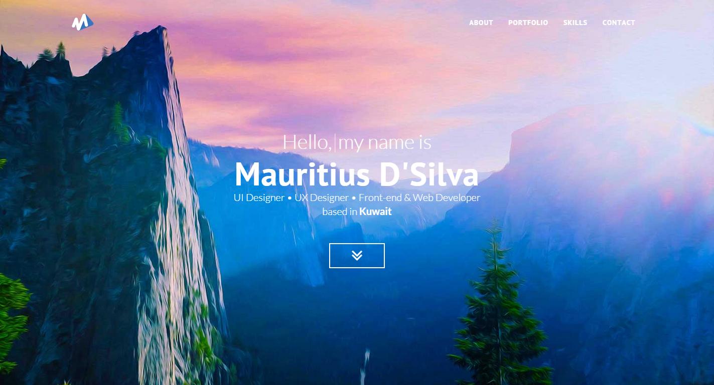 UI/UX Designer Portfolio Website